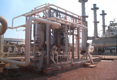 Kharg Districts Industrial Wastewater Treatment System